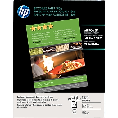 HP® Brochure and Flyer Paper, 8 1/2