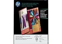 HP Inkjet Tri-Fold Brochure Paper 180g 8 1/2' x 11' Matte 100/pack (Q5443A)