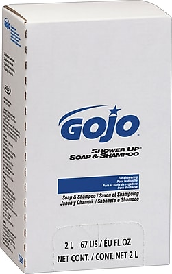 GOJO Shower Up Soap and Shampoo, 2,000 mL