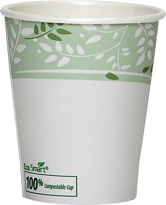 Dixie EcoSmart 8 oz. Compostable Hot Cups 50/Pack (2338PLA)