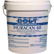 Boardwalk® Laundry Detergent Premier Low Suds Powder, Bucket, Lemon Scent, 40 lbs.