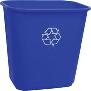 Staples® Blue Recycling  Wastebasket