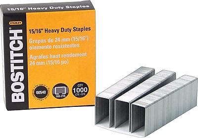 Bostitch® Heavy Duty Staples, 15/16