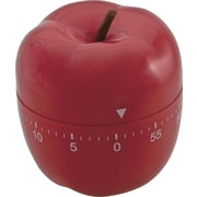 "Baumgartens Shaped Timer, Red, 4"" (77042)"