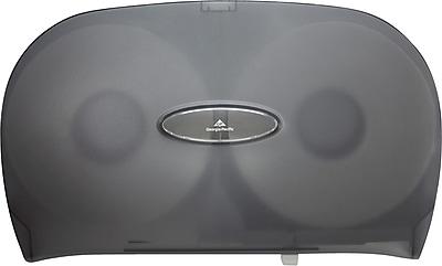 Georgia Pacific® Jumbo Jr. Toilet Paper Dispenser by GP PRO, Translucent Smoke (59209)