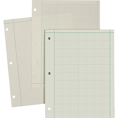 Ampad Evidence® Engineer's 5 x 5 Quadrille Pads, 8-1/2