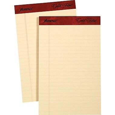 Ampad® Gold Fibre Retro Writing Pads, 5