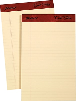 Ampad® Gold Fibre® Retro Writing Pad, 5