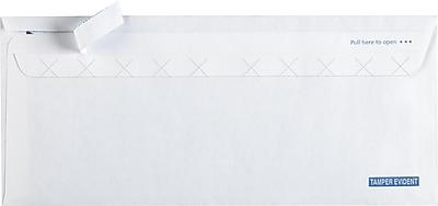 Staples #10 EasyClose Tamper-Evident Security-Tint Envelopes (19956)