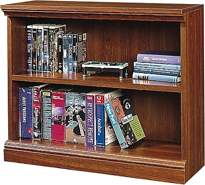 Sauder Premier 36'' 2-Shelf Bookcase, Planked cherry (1782-100)