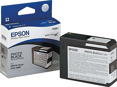 Epson 580 80ml Photo Black Ink Cartridge (T580100)