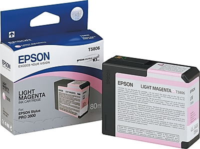 Epson 580 80ml Light Magenta Ink Cartridge (T580600)