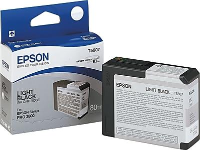 Epson 580 80ml Light Black Ink Cartridge (T580700)