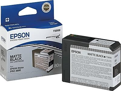 Epson 580 80ml Matte Black Ink Cartridge (T580800)