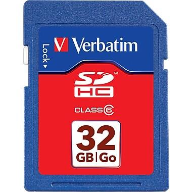 Carte Premium SDHC Verbatim® de 32 Go (Classe 10)