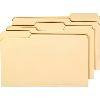 Pendaflex® Essentials™ File Folder, 1/3-Cut, Legal Size, Manila