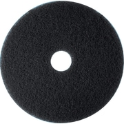 "3M™ Low-Speed Floor Pad, High Productivity Stripping Pad 7300, Black, 20"", 5/Ct"
