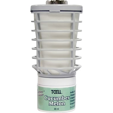 Technical Concepts TCELL™ Odor Control Refill, Cucumber Melon, 6/Case