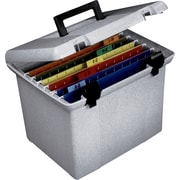 esselte portfile hanging file box granite - Hanging File Box