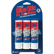 Avery Glue Stic for Envelopes, .26 oz, 3/Pk