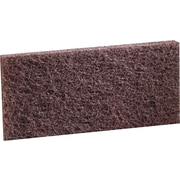 3M™ Doodlebug™ Heavy Duty Cleaning Pad, Brown, 5/Bx