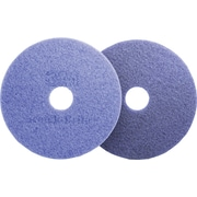 "3M Scotch-Brite™ Purple Diamond Floor Pad Plus, 20"" Diameter, 5/Ct"