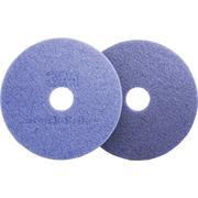 3M Scotch Brite Purple Diamond Floor Pad Plus, 20 inch Diameter, 5/Ct by