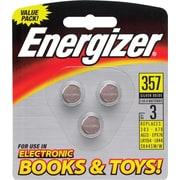 Energizer® 1.5 Volt Silver Oxide Books/Toys Battery, 3/Pk