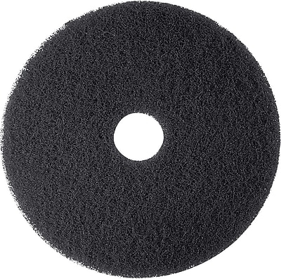 3M Black Stripper Floor Pads 7200, 18