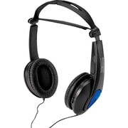 Kensington® Noise Canceling Headphones, 5' Cord, Black