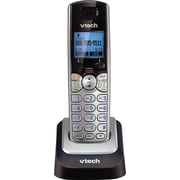 VTech DS6101 DECT 6.0 2-Line Cordless Expansion Handset for VTech DS6151 Phones, Silver