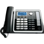 RCA 25215 2-Line Corded Telephone with Full Duplex Speakerphone and Digital Answering System