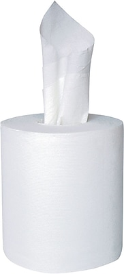 Brighton Professional™ Center-Pull Paper Towel, 2-Ply, White, 6 Rolls/Carton (BPR26115/410307)