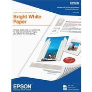 Epson Bright White Paper 8.5 x 11 500 Sheets per pack (S041586)