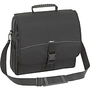 "Targus® Messenger Laptop Case, Black, 15.4"", 16.3""H x 14.3""W x 3.5""D"