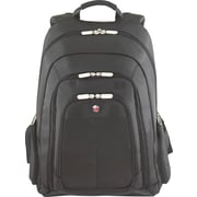 "Targus 15.4"" Revolution Laptop Backpack, Nylon, Black, 14.63"" x 6 1/2"" x 19.13"""