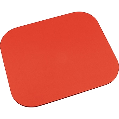 Staples Mouse Pad, Red