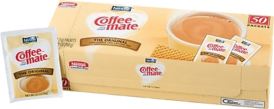 Nestle® Coffee-mate® Coffee Creamer, Original, 3g Powder Packets, 50/Box