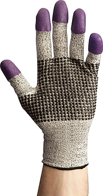 Kleenguard G60 Nitrile Work Gloves, Medium, Purple