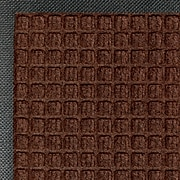 M+A Matting Waterhog™ Classic Mat , Dark Brown, 4'W x 6'L Cleated (200520046170)