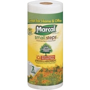 Marcal® Small Steps® 100% Recycled Paper Towel Rolls, 2-Ply