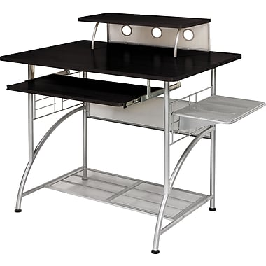 Staples® Cormac Computer Cart, Espresso