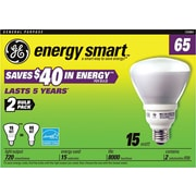 GE Compact Fluorescent Bulb, 15 Watt, R30 Reflector, Soft White