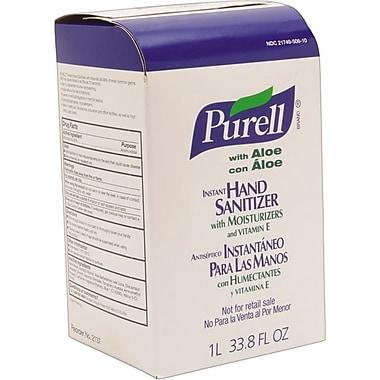 Purell Advanced Instant Hand Sanitizer Refill w/Aloe, 1000mL Refill