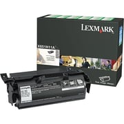 Lexmark X651H11A Black Toner Cartridge, High-Yield Return Program (X651H11A)