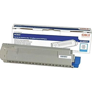 OKI – Cartouche de toner 44059215, cyan