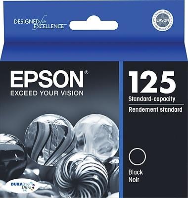 Epson 125 Black Ink Cartridge (T125120)