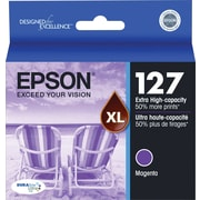 Epson® 127 (T127320) Magenta Ink Cartridge, Extra High-Capacity