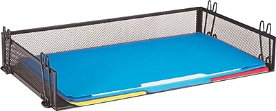 Staples Black Wire Mesh Stackable Legal Tray Staples