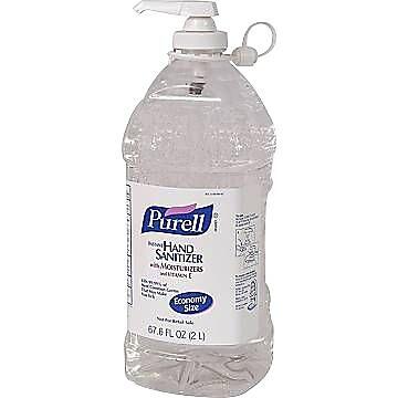 Purell® Advanced Instant Hand Sanitizer, 2 Liter Pump
